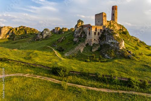 Foto Wzgórze Zamku w Olsztynie.
