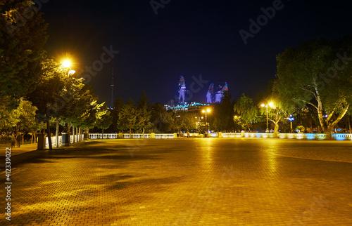 Photographie The playing area in Baku Boulevard, Azerbaijan