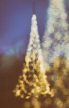 Christmas Tree Double Exposure