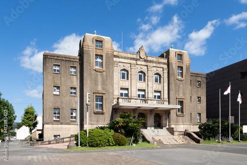 晴天の鹿児島市中央公民館 Fototapet