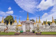 Wat Chedi Sao Lang (Chedi Sao Lang Temple)in Lampang Province Of Thailand