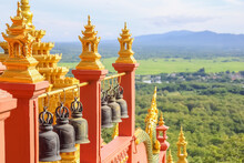 Wat Phra That Doi Phra Chan Temple One Of The Most Beautiful Buddhist Temple On The Hills In Lampang Province Of Thailand