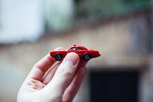 Closeup Of A Rescue Toy Car