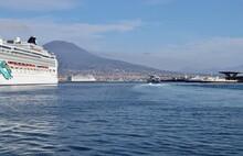 Napoli - Scorcio Panoramico Dal Porto