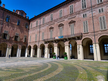 Royal Palace, Inner Court, Turin, Piedmont, Italy