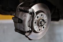 Brake Pad Replacement In Car Service