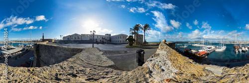 Fotografie, Obraz I Bastioni di Alghero, Sardegna, Italia