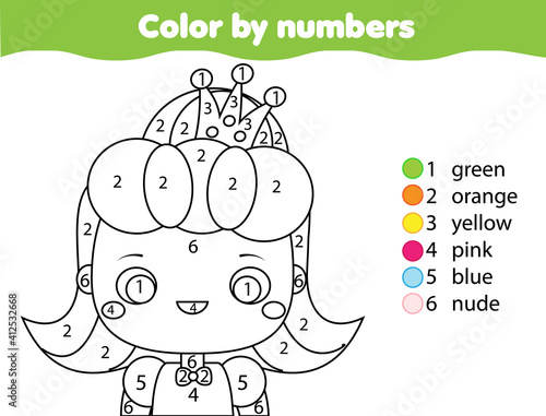 Foto Coloring page for kids
