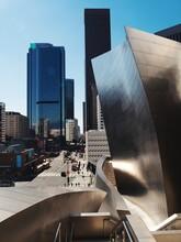 Modern Buildings In Los Angeles Against Sky