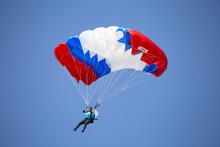 A Skymaster Paramotor Found Flying On The Sea Line Beach Sky