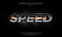 Carbon Steel Metal Editable Text Style Effect. Editable Font Vector File