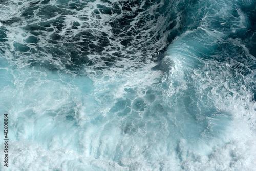 Obraz na plátne Full Frame Shot Of Sea
