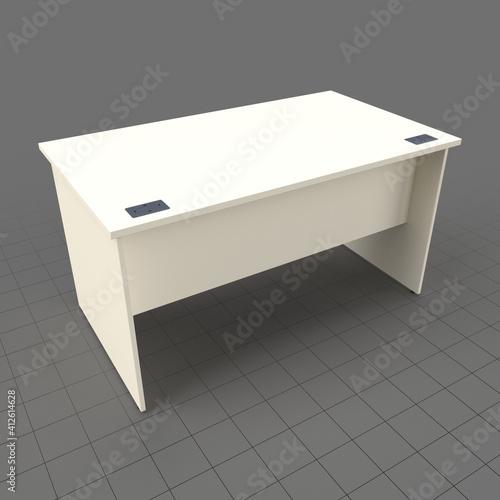 Fototapeta Panel end office desk obraz