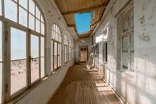 Abandoned House Terrace