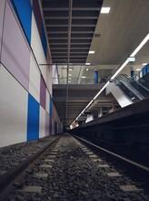 Estación Moderna Del Subte De Buenos Aires
