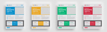 Flyer. Creative Corporate Minimal Print Ready Newest Trendy Advertising Multipurpose Business Official Magazine Flyer Poster With Trendy Geometric Shape Flyer Template Print Design