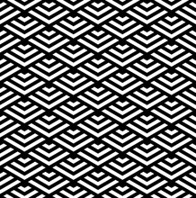 Abstract Seamless Geometric Pattern And Texture.