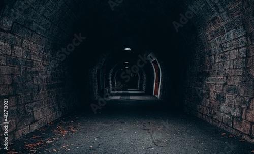 Fotografija View Of Empty Tunnel