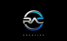 RAC Letter Initial Logo Design Template Vector Illustration