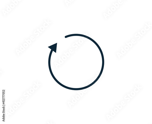 Share flat icon. Thin line signs for design logo, visit card, etc. Single high-quality outline symbol for web design or mobile app. Sign outline pictogram. Wall mural