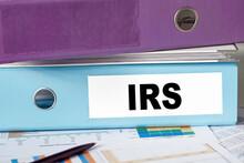IRS - Internal Revenue Service Acronym, Business Concept Background