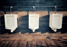 Urinals On Wall