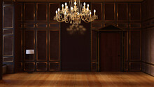 テレビ会議背景用 ZOOM会議背景用 CG ホール 広間 クラッシック 宮殿 エントランス 部屋 Video Conferencing Background
