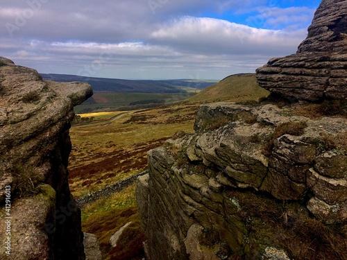 Carta da parati Scenic View Of Landscape Against Sky
