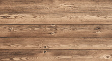 Wood Texture Planks Of Pine. Wooden Brown Background