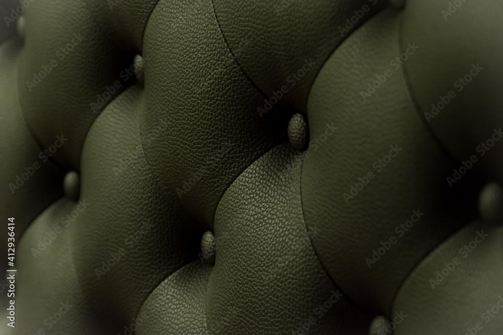 Fototapeta Full Frame Shot Of Luxury Leather Furniture