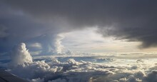 Scenic View Of Cloudscape Against Sky