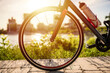 Close-up Of Bicycle