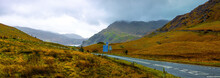 A View Of Snowdonia National Park, Northwest Wales
