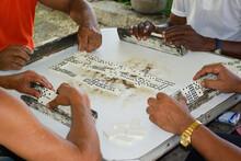 Joueurs De Domino, Jeux Typique De Cuba