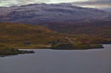 Ardvreck Castle, Loch Assynt, Sutherland, North West Scotland
