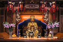 Asia, China, Shanghai, Shanghai City God Temple
