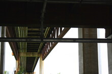 The Underside Of A Bridge At The Russell W. Peterson Urban Wildlife Refuge In Wilmington, Delaware