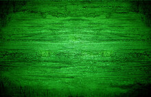 Abstract Green Blurred