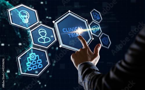 Obraz na płótnie Business, Technology, Internet and network concept