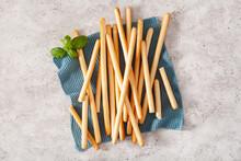 Grissini Crispy Italian Bread Sticks.