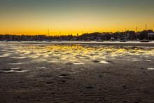 Sunset Gunnamatta Bay,  Golden Hour. Sydney Australia