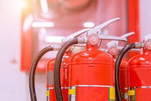 Close-up Of Fire Extinguishers