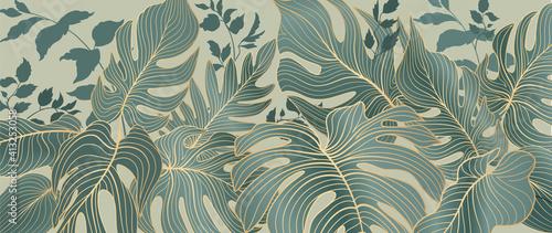 Mata na ścianę za łóżko  kwiatowa-ozdobna-tropikow