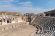 Overview of amphitheater at Bet She'an Israel