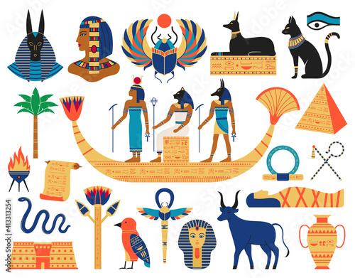 Valokuva Egyptian elements