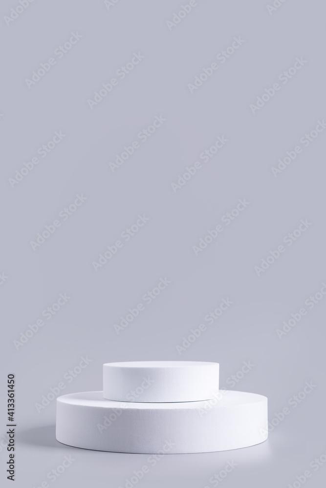 Fototapeta Empty platform for product advertising and presentation