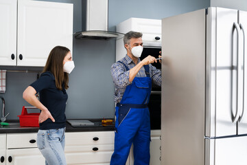 Fridge Repair Service. Refrigerator Repairman Technician