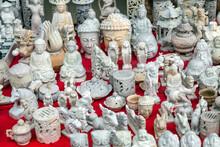 Buddha Marble White Statue