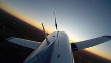 General Aviation Aircraft On A Normal Flight