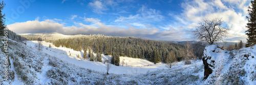 sonniger Wintertag im Thüringer Wald © Henry Czauderna